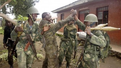 DR Congo rebels 'all but finished'