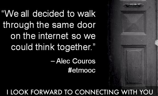 Etmooc Anniversary #etmchat (with images, tweets) · rljessen