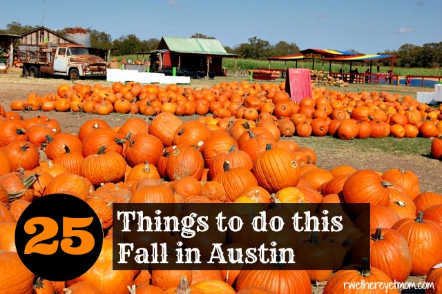 25 Things to Do in Austin & Central Texas this Fall 2015