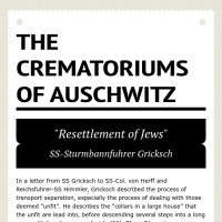 Infographic: The Crematoriums of Auschwitz | Infogram