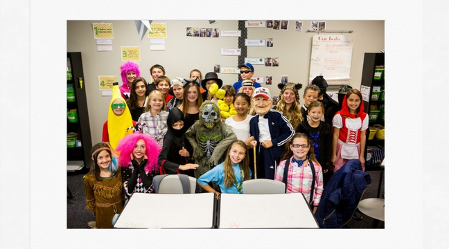 5th Grade Halloween Party