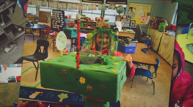 St. Patrick's Day in Maillet's room