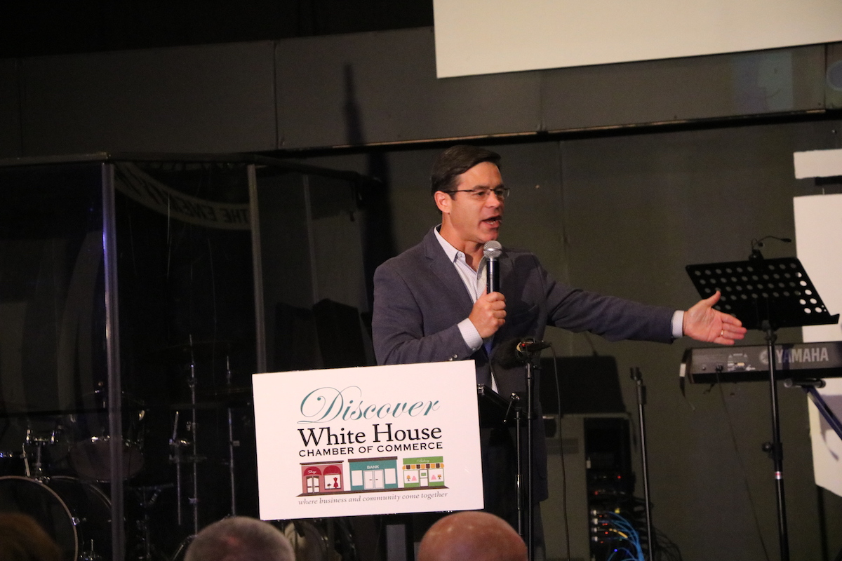 Video: Mike Keith of Titans speaks to WH Chamber