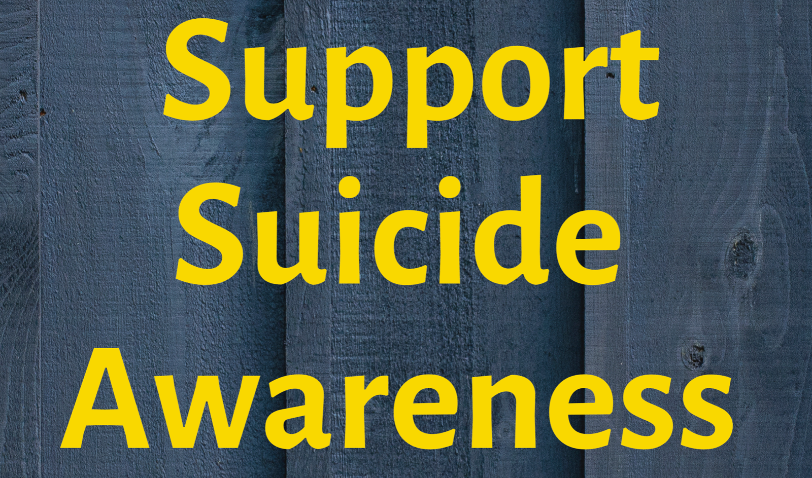 WHHS to support Suicide Awareness on Sept. 12th (Wear Yellow)