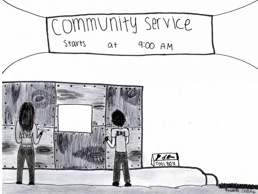 Benefits of community service go beyond school requirements