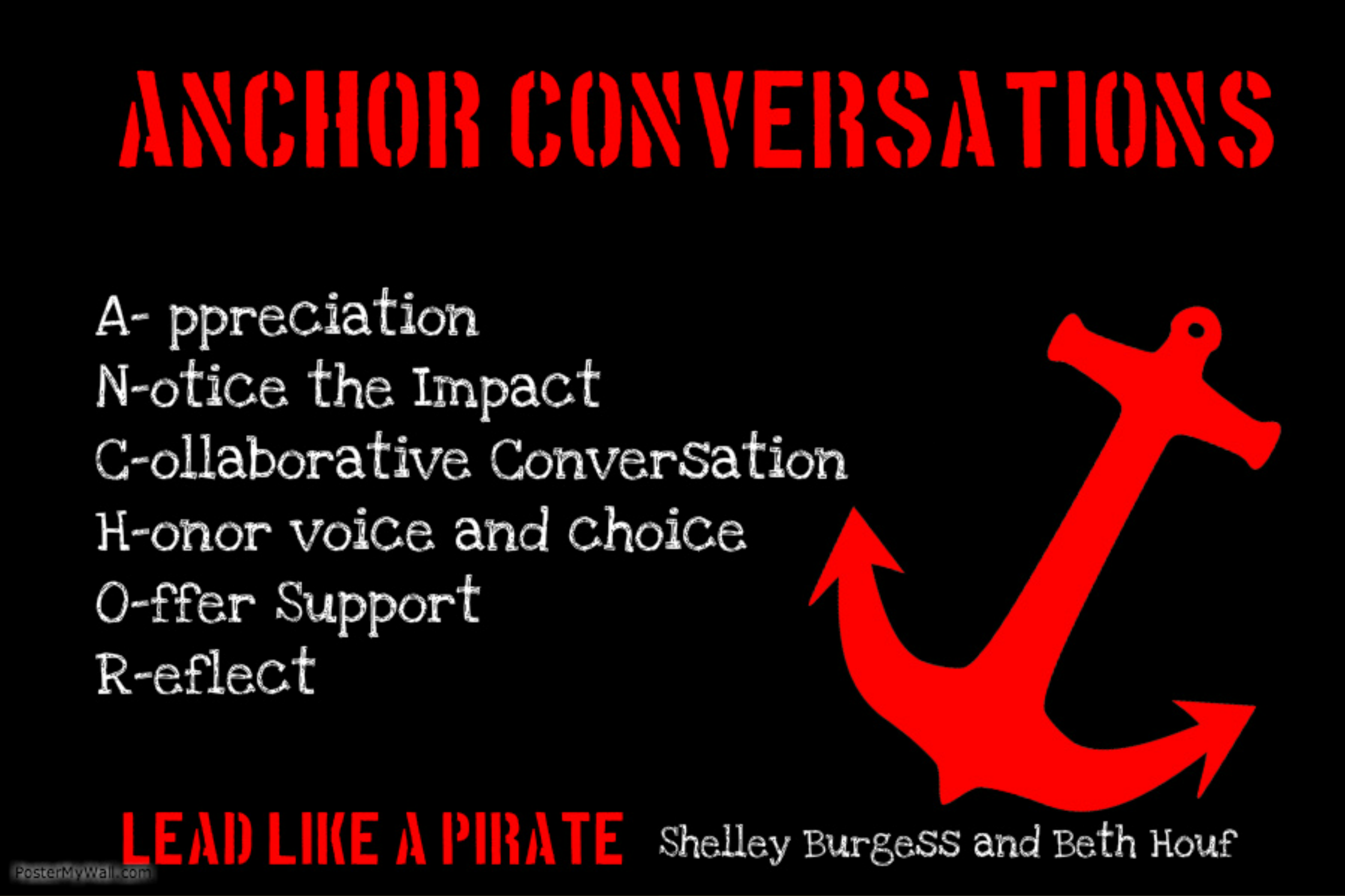 #LeadLAP Monday Challenge #1 – Drop an ANCHOR – A is for Appreciation