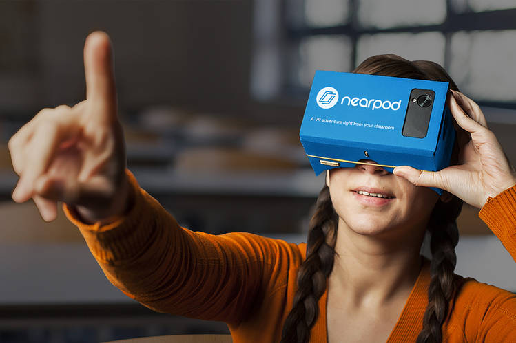 Virtual Reality Learns How to Get Into the Classroom