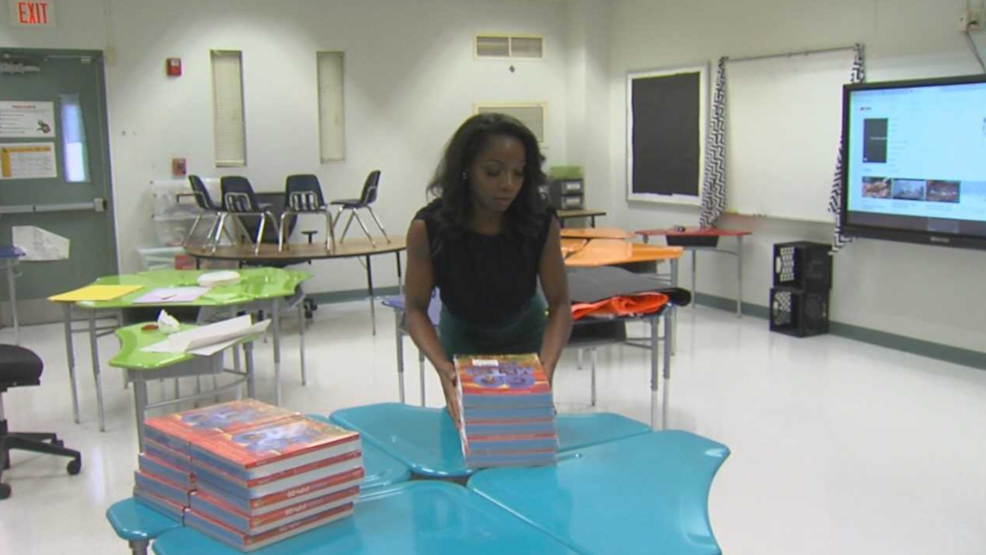 Bibb Co. teachers make last-minute classroom preps for the new year