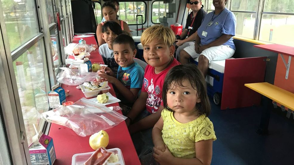 Mobile cafes feed children in need in Indian River County