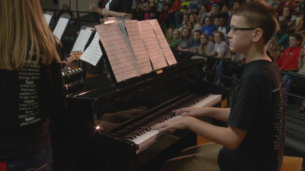 Beyond the Books: Franklin Middle School receives $10k music grant