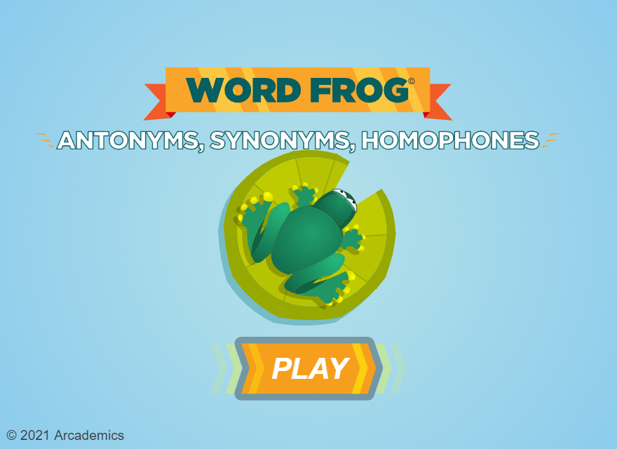 Arcademic Skill Builders - Word Frog