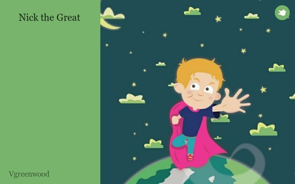 Nick the Great by Vgreenwood on Storybird