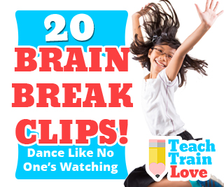 20 Brain Break Clips: Dance Like No One's Watching! - teachtrainlove.com