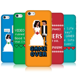 Head Case Designs A Gamer's Life Protective Back Case Cover for Apple iPhone 5c