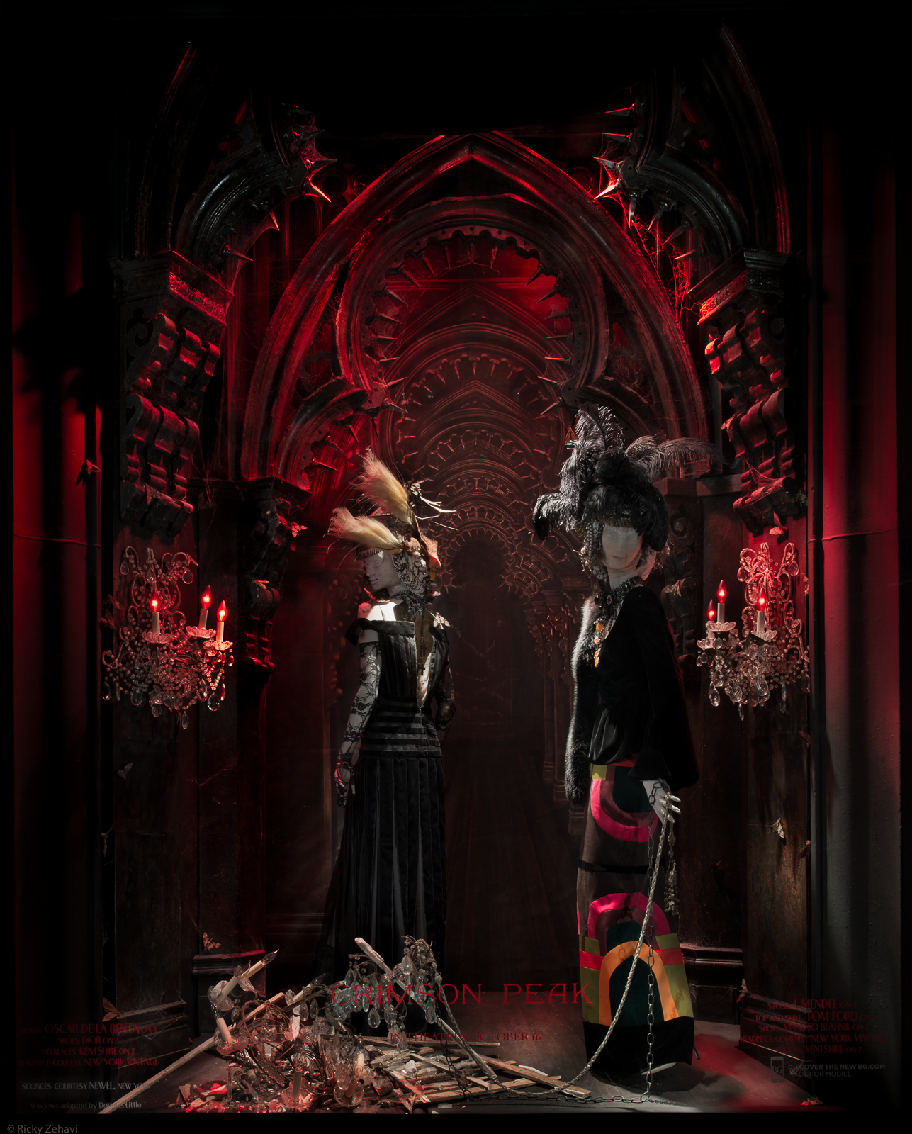 Bergdorf Goodman's Halloween Windows Will Scare The Chic Out Of You