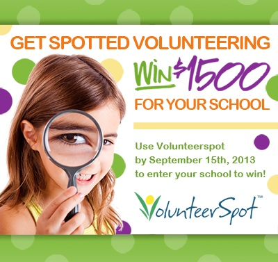 Save Time. Plan Online with VolunteerSpot Today & Win $1500 for Your School!