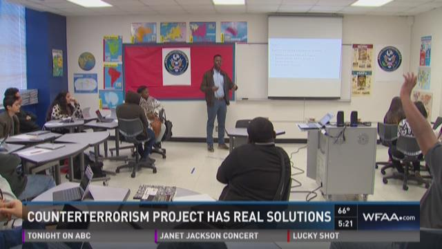 Counterterrorism project has real solutions
