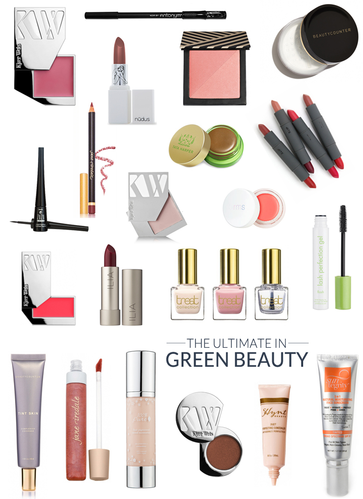 The Ultimate Green Beauty Cosmetics Guide - whoorl