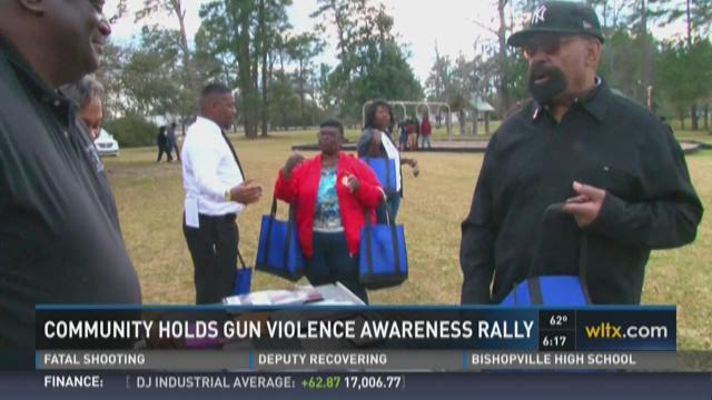 Community Holds Gun Violence Awareness Rally