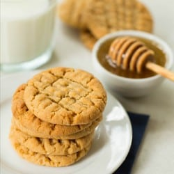 Honey-Peanut Butter Cookies Recipe | Brown Eyed Baker