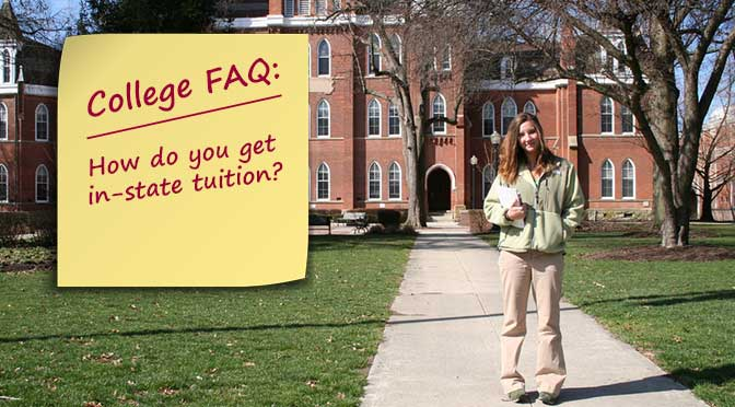 FAQ: How do you get in-state tuition?