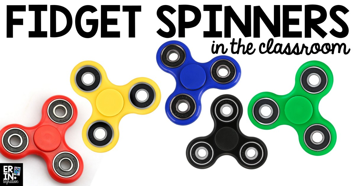 Fidget Spinners in the Classroom STEM Project - Erintegration