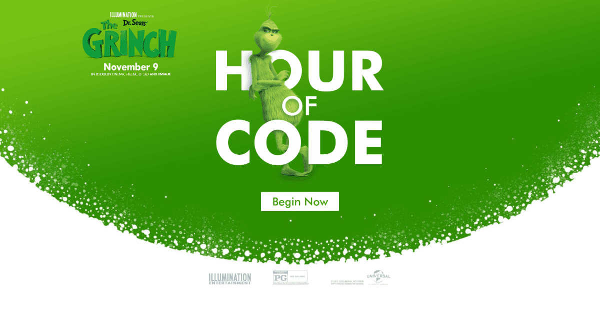 The Grinch Hour of Code