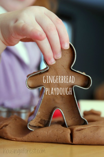 Homemade Gingerbread Play Dough Recipe - Housing a Forest