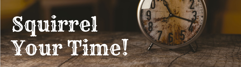 Squirrel Your Time:  5 Ways for Teachers to Save Valuable Time