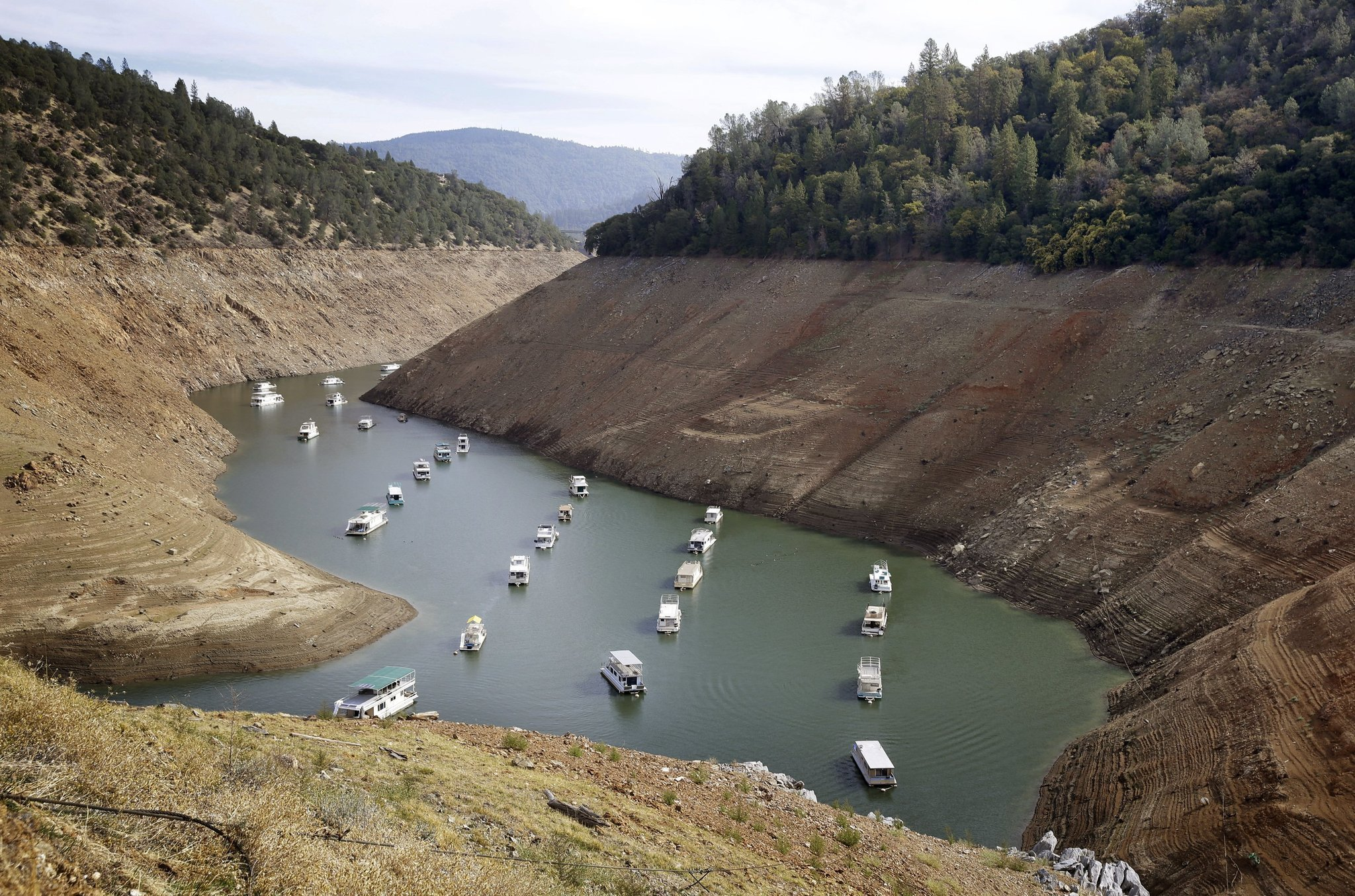California has about one year of water left. Will you ration now?