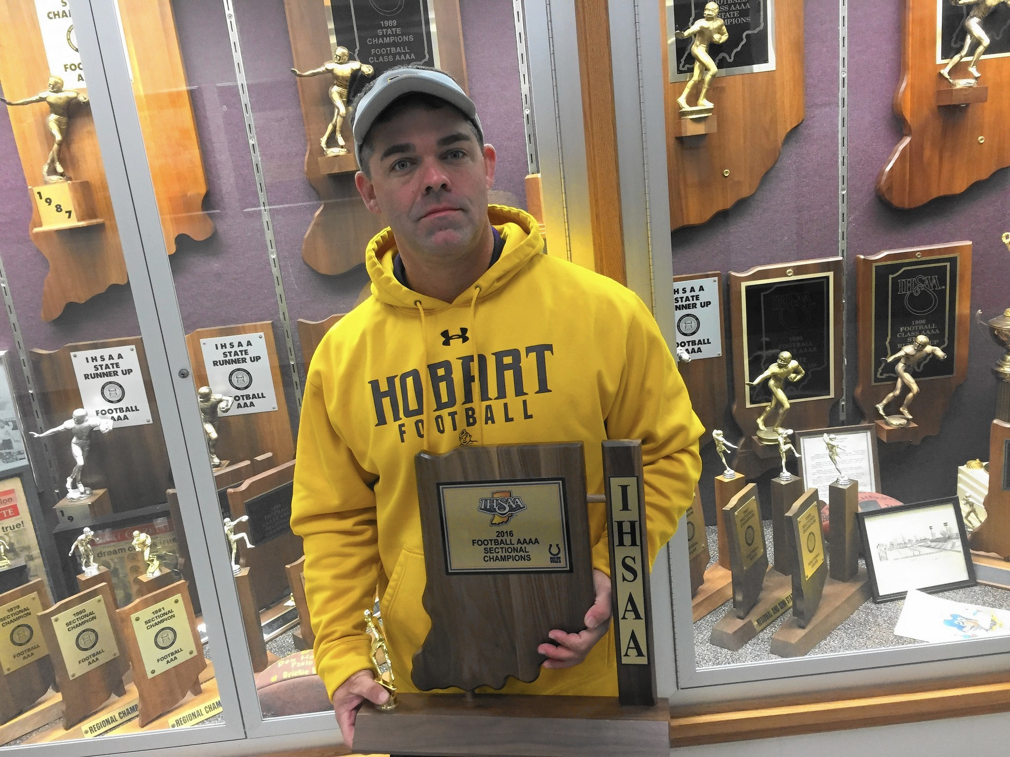 Hobart's Ryan Turley the Post-Tribune 2016 Football Coach of the Year