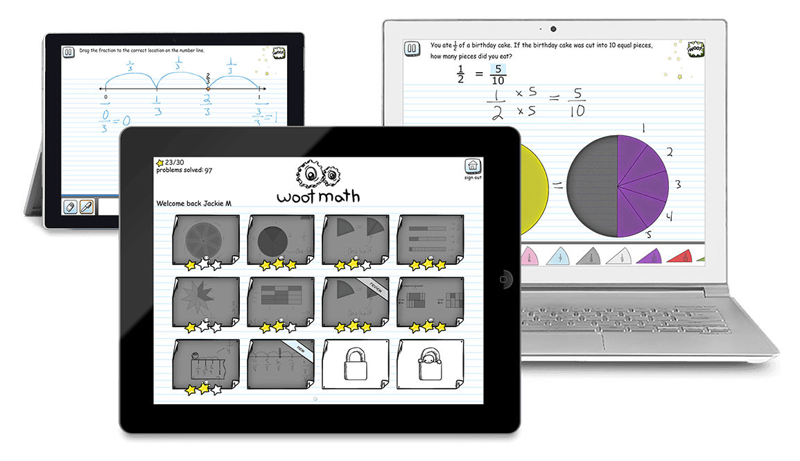 Woot Math - Engaging, Research-based Tools for the Math Classroom