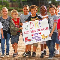 Help me raise funds for the JDRF Kids Walk to Cure Diabetes.