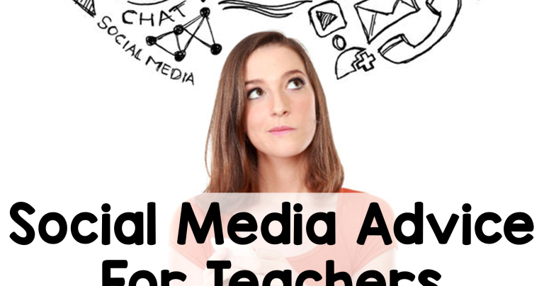 Social Media Tips for Teachers - 2 Peas and a Dog