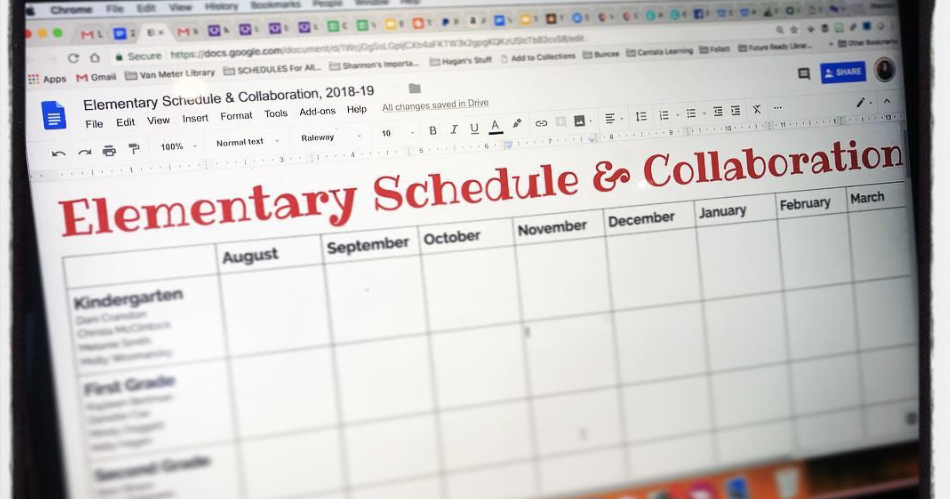 My Tips & Helpful Google Docs For Awesome Collaboration Between Teacher Librarians and Teachers!