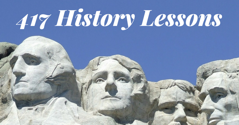 417 History and Civics Lessons In One Place
