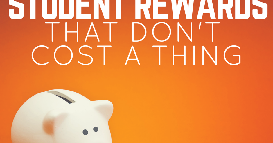 Teaching In The Fast Lane: 50 Student Rewards That Don't Cost a Thing