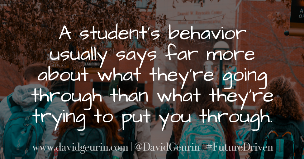 The Importance of Teaching the Behaviors You Want to See