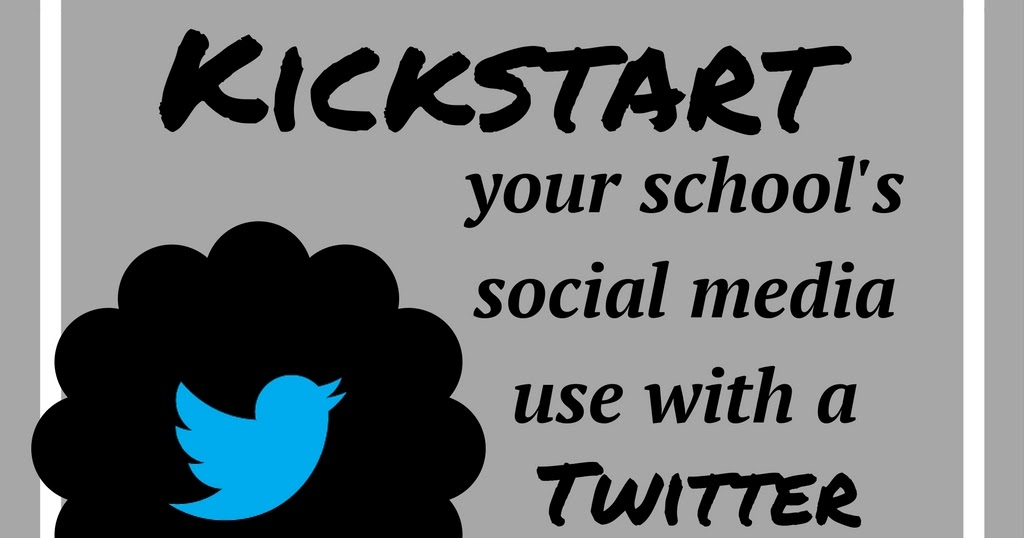 Kickstart your school's social media use with a twitter party!