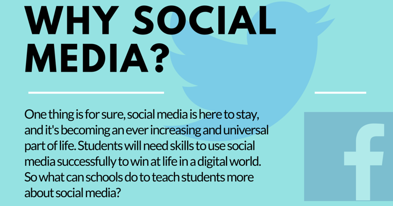 7 Reasons To Use Social Media In Your School (INFOGRAPHIC)