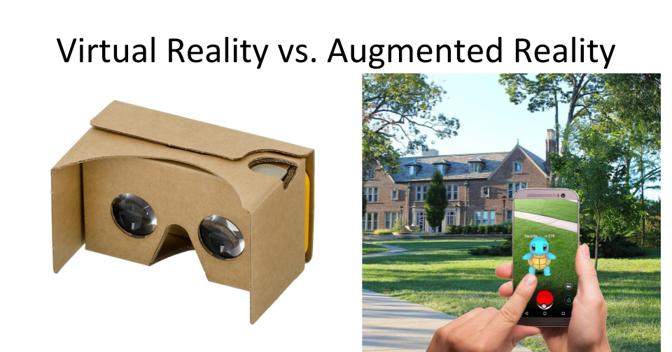 What is Augmented Reality and Virtual Reality?