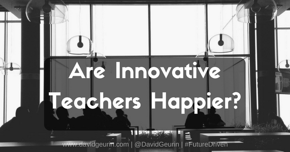 Are Innovative Teachers Happier?