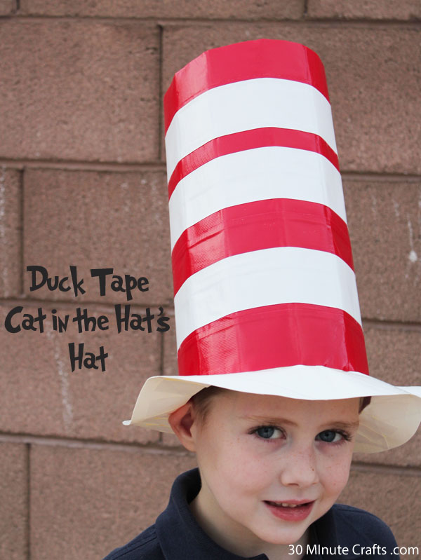 Duck Tape Cat in the Hat's Hat - 30 Minute Crafts