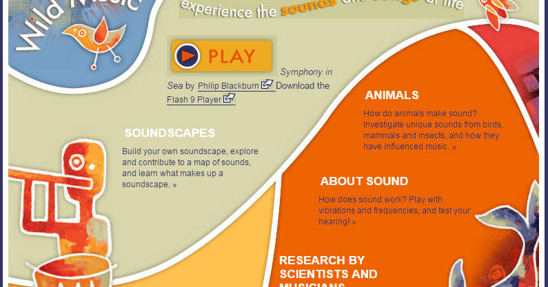Free Technology for Teachers: Wild Music - Songs and Sounds of Wildlife