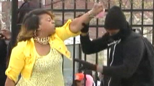 Hero of Baltimore riots: A mom