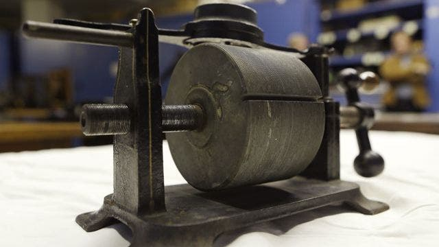 1878 first-ever captured Edison audio recording unveiled | Fox News