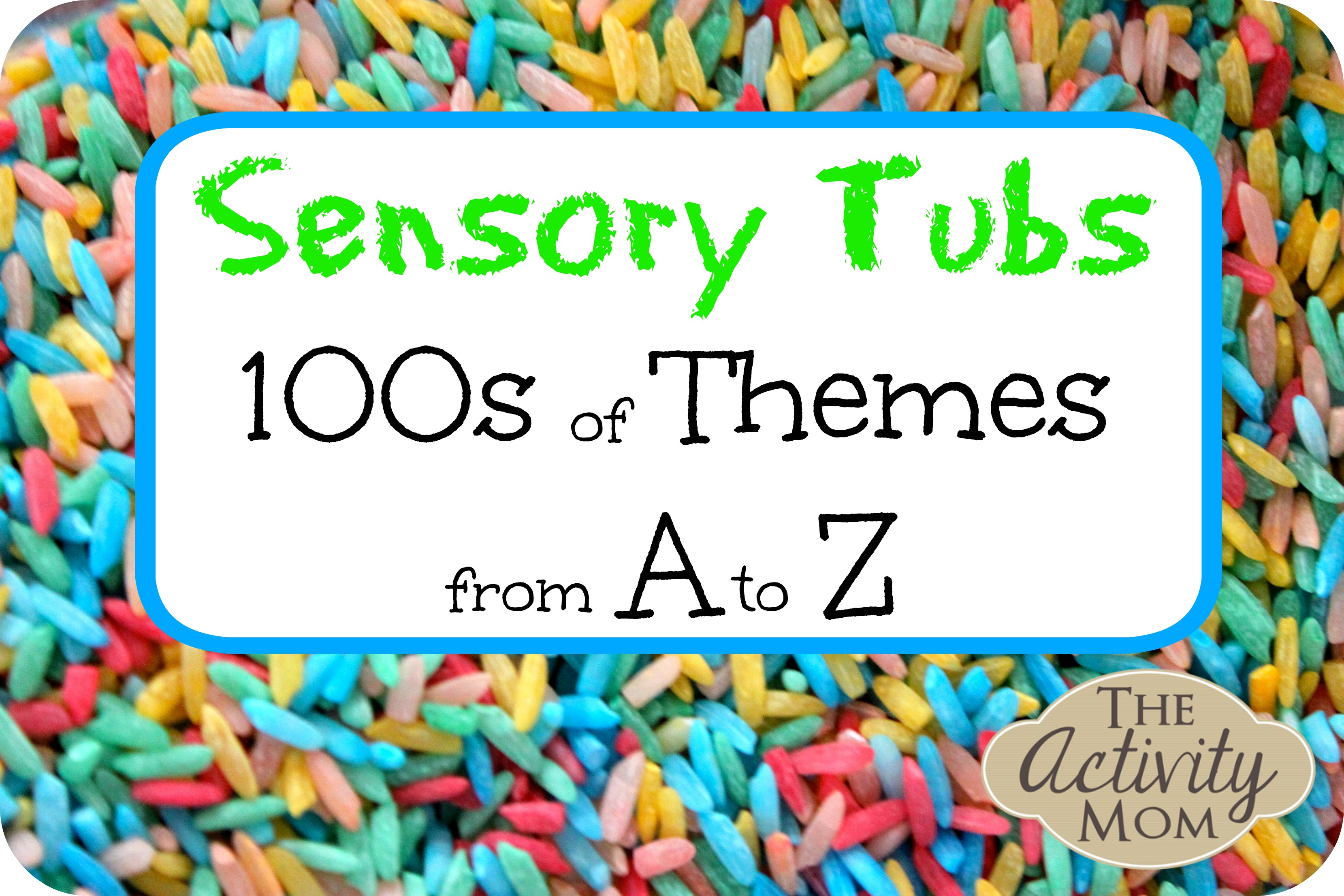 Alphabet Sensory Activities for Toddlers