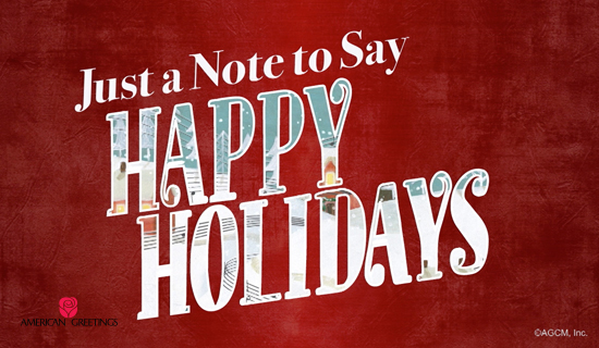 Ecard: 'Happy Holidays'