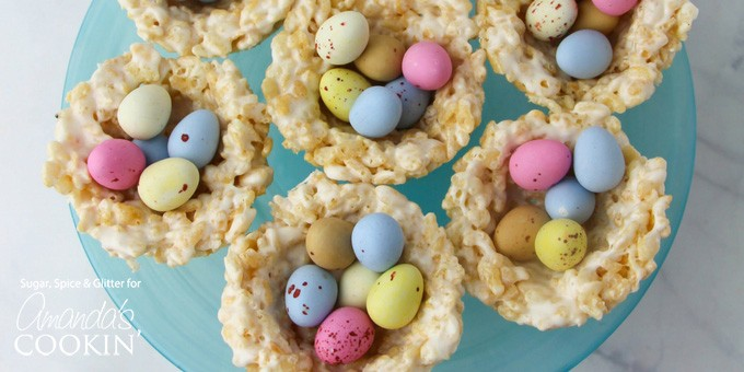 Rice Krispie Nests: a quick and easy no-bake Easter treat!