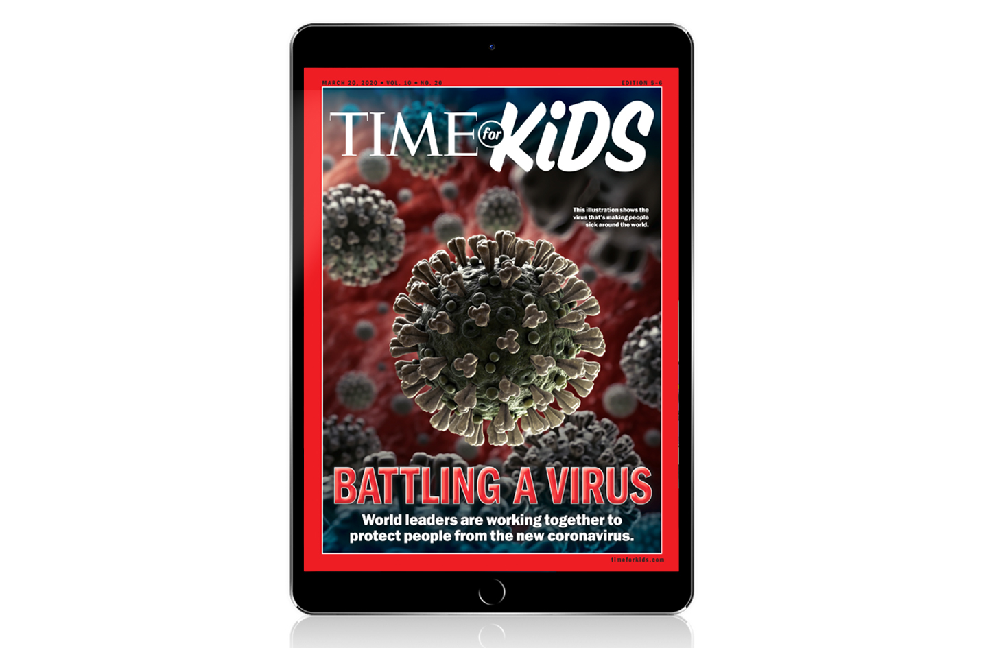 TIME for Kids Launches Free Digital Library